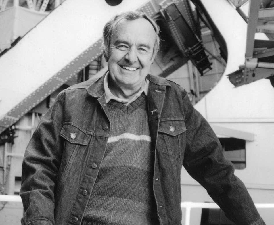 L'astronome américain Allan Sandage (1926-2010) en 1982. Il a été le premier à obtenir une valeur correcte de la constante de Hubble, et est célèbre pour sa découverte du premier quasar, 3C 273, en 1959. © Douglas Carr Cunningham