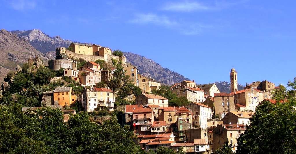 Parc naturel régional de Haute Corse Corte. © Bar-Christian, Wikimedia commons, CC by-sa 3.0