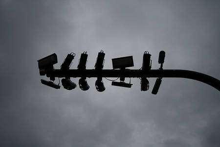 Caméras de vidéosurveillance chargées, à Londres, d'aider à la régulation du trafic. © jeroen020, Flickr