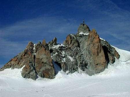 Aiguille du Midi face Sud