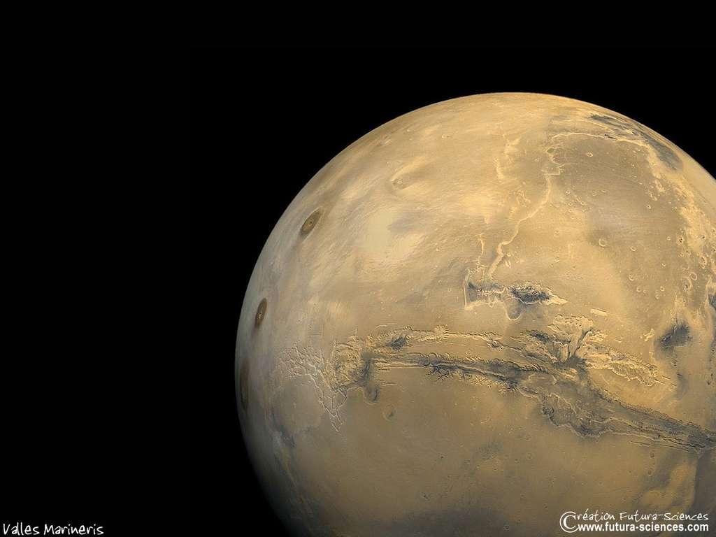 Un pas sur Mars !