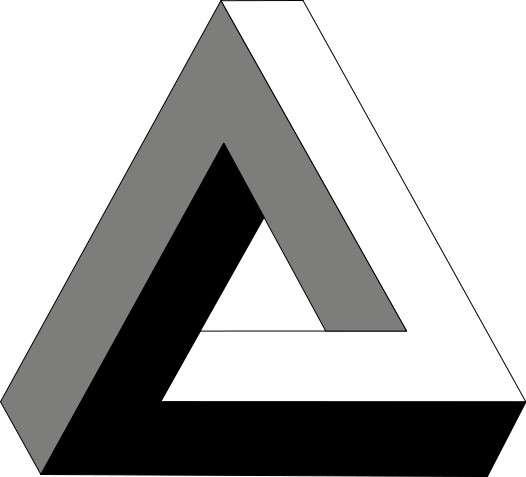 L'impossible triangle de Penrose