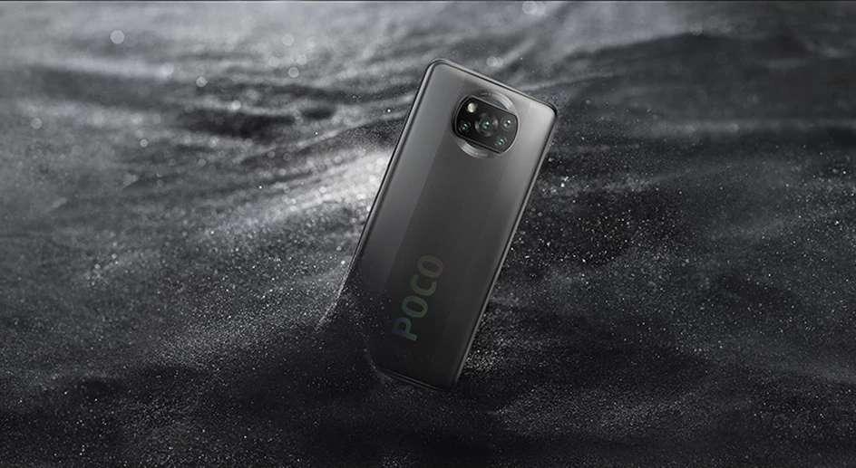 Le smartphone Xiaomi Poco X3 NFC © AliExpress