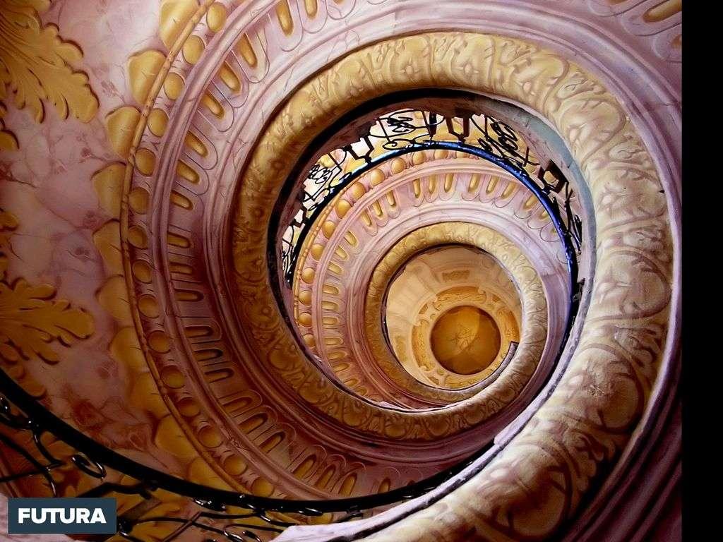 Escalier sublime à Vienne