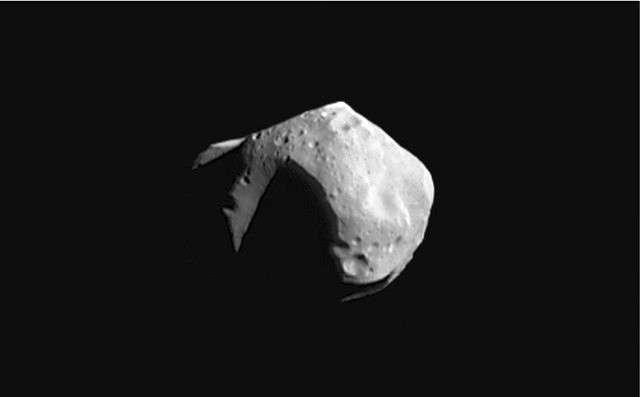 253 Matilde est un astéroïde de type C. © Nasa
