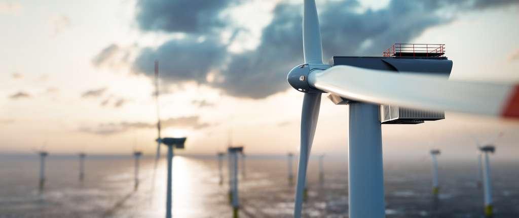 Les ingénieurs comptent sur les terres rares, notamment pour la conception d'éoliennes offshore toujours plus efficaces. © Photocreo Bednarek, Adobe Stock