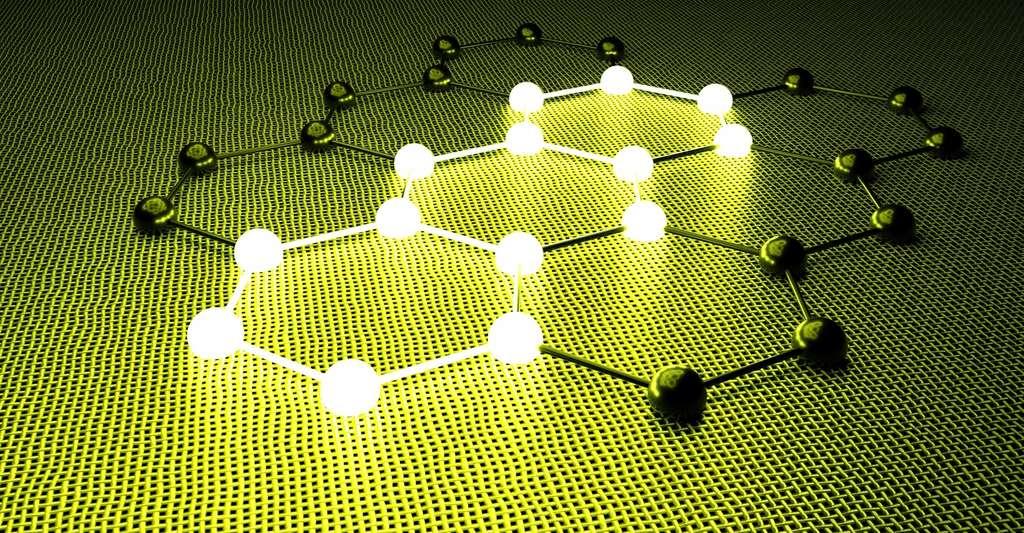 Des chercheurs du Helmholtz Zentrum Berlin (Allemagne) mettent à jour la supraconductivité des doubles couches de graphène. © sxsxw, Fotolia
