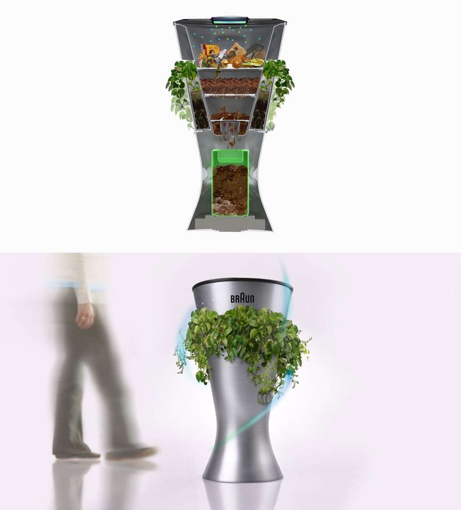 Envi, la poubelle plante