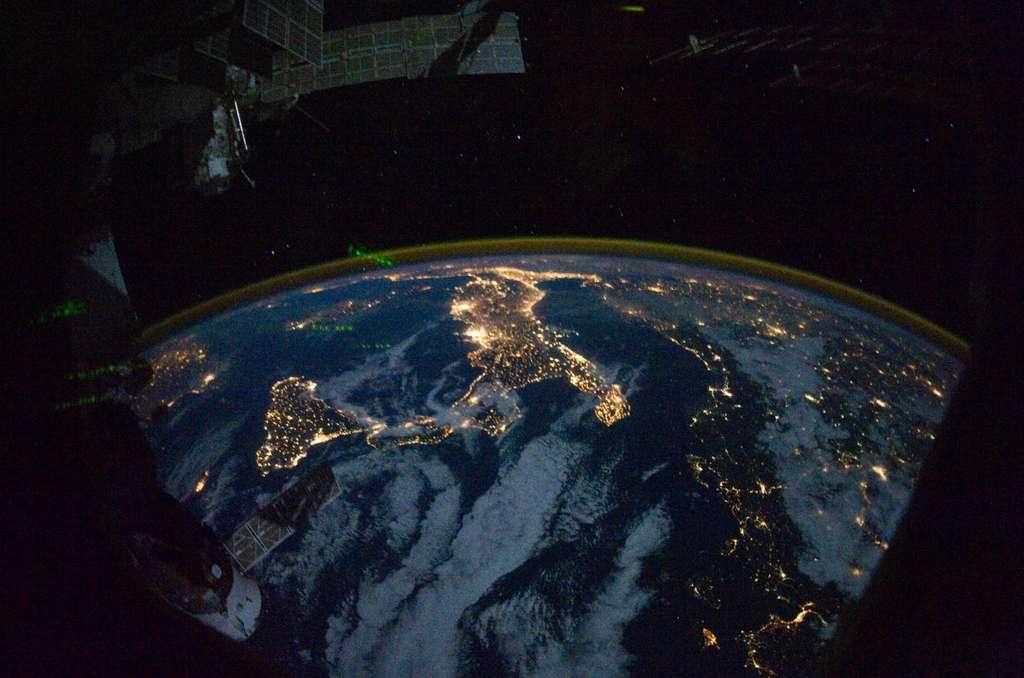 L'Italie depuis l'espace