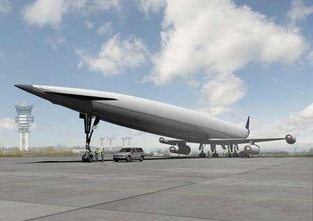 Un peu moins beau que le Concorde, tout de même, non ? © Reaction Engines