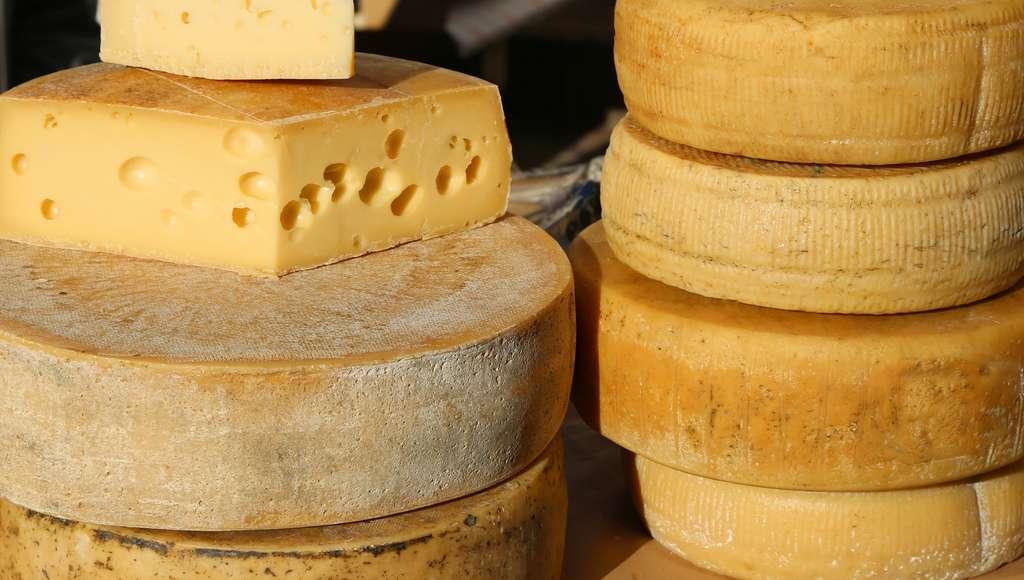 Les fromages affinés type beaufort ou emmental se conservent plusieurs mois au frais hors du réfrigérateur. © ChiccoDodiFC, Fotolia
