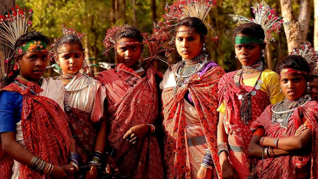 Les Baigas, une tribu primitive coupée du monde, en Inde