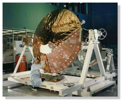 La sonde Huygens. © Nasa 1998