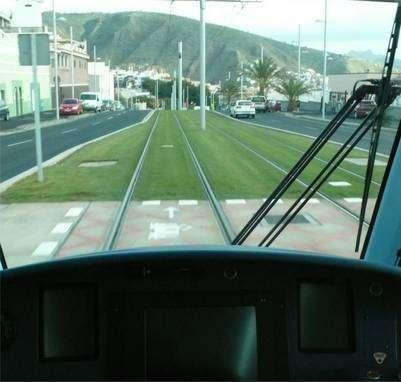 Les pentes à plus de 8% sont parmi les plus élevées pour un tramway classique. © Jean-Luc Goudet/Futura-Sciences