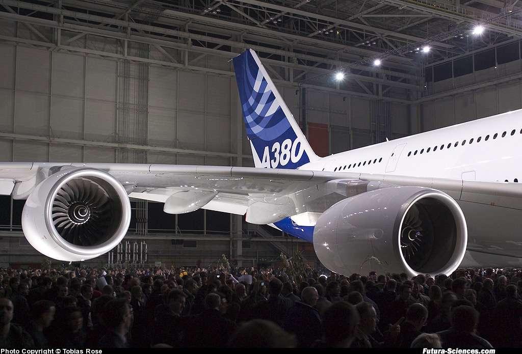 Cérémonie de présentation de l'A380
