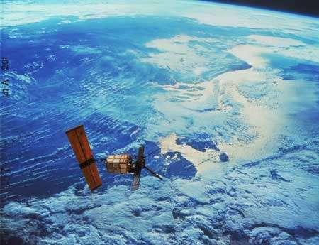 Surveillance satellitaire © Nasa
