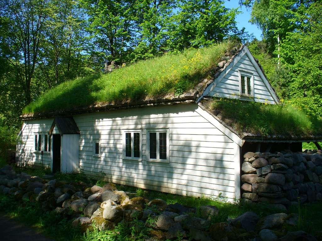 Maison traditionnelle en Norvège