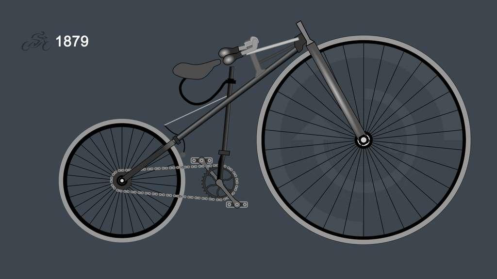 1879 : la bicyclette de Lawson