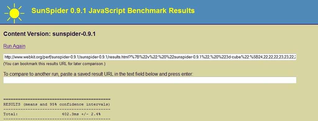 Le nouveau moteur Javascript est trois à six fois plus rapide selon les configurations. © Mozilla