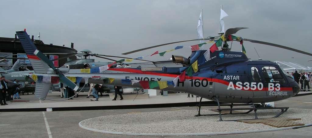 Eurocopter sur le toit du monde