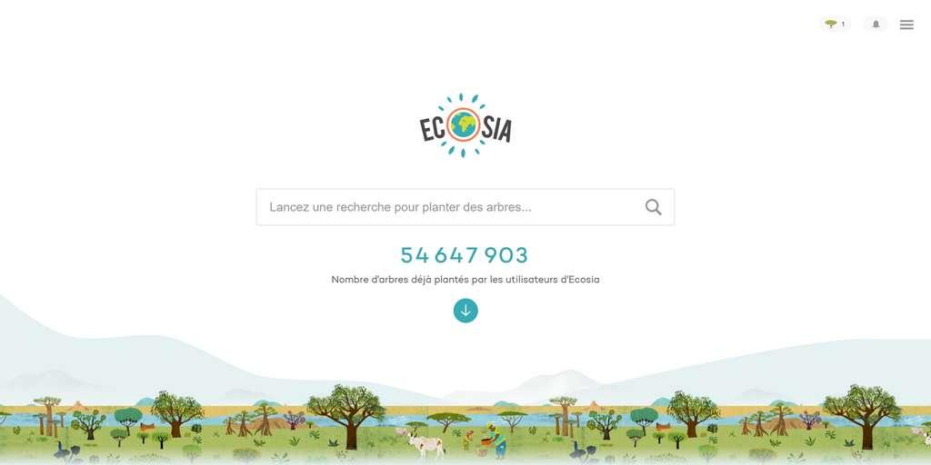 Faire des recherches avec Ecosia permet de participer à la reforestation partout dans le monde. © Ecosia GmbH