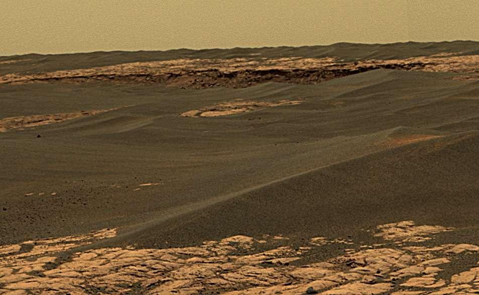 Le bord du cratère Erebus