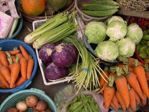 Les légumes, bons pour la santé et le poids.