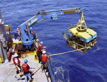 Jason, un Rov géré la Woods Hole Oceanographic Institution. © Julie Huber, Marine Biological Laboratory