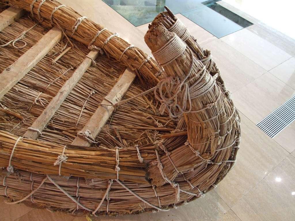 Bateau fait de papyrus. © Ableiter, cc by nc 3.0