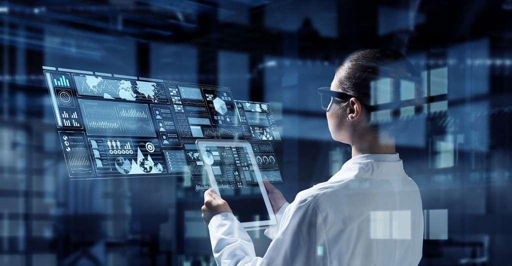 Technologies innovantes en médecine et sciences. © Sergey Nivens, Shutterstock