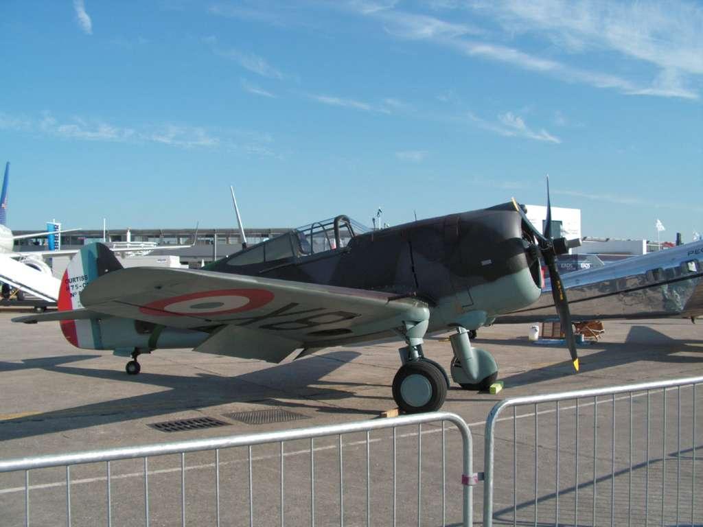 Les avions exposes au Salon du Bourget