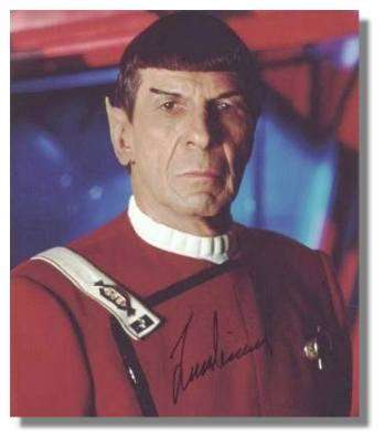 M.Spock, Leonard Nimoy