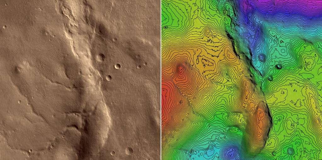 Image topographique