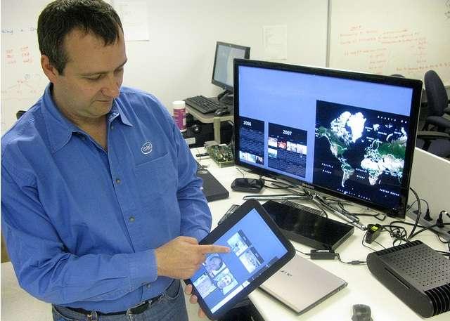 Parmi les nouveaux appareils mobiles, la tablette est celui utilisé le plus fréquemment, par la souplesse de ses usages et sa grande autonomie. © LeFigaro.fr