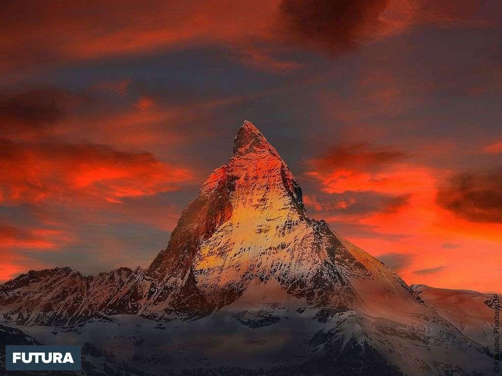 Le Cervin à Zermatt, Canton du Valais, Suisse
