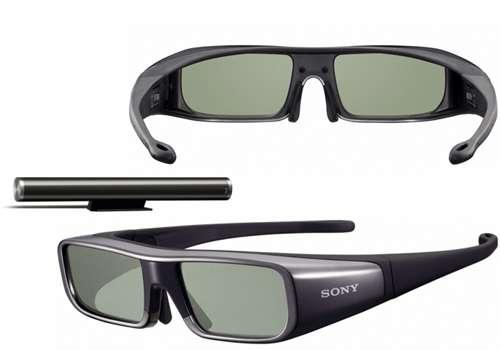 Panasonic, Samsung, Sony, etc., chaque fabricant fournit des lunettes 3D incompatibles avec les téléviseurs de ses concurrents. © Sony