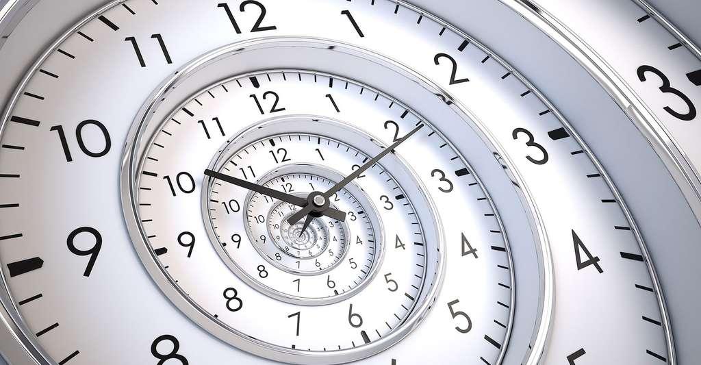 Spirale du temps infini. © Sashkin, Fotolia
