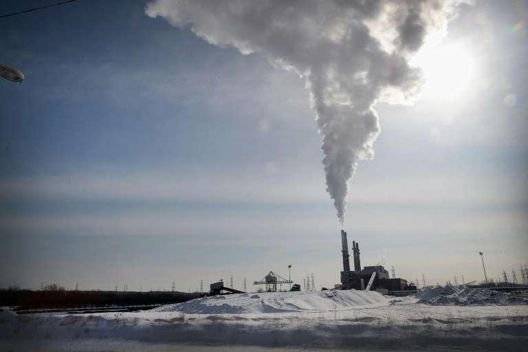 Les émissions liées à l'activité humaine ont fait grimper les niveaux de CO2 de plus de 40 % en un siècle et demi. © Scott Olson, Getty, AFP, Archives