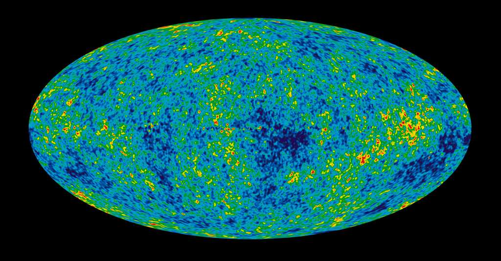 Nine Year Microwave Sky. © NASA / WMAP Science Team, DP
