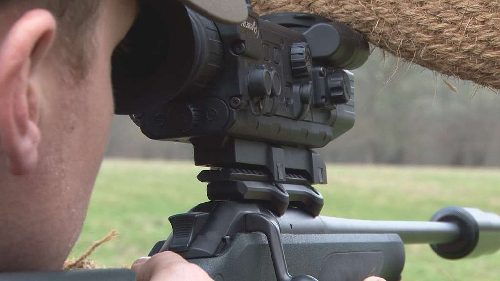 Type d'arme utilisée pour la chasse au sanglier. © FieldsportsChannel.tv, Flickr, cc by 2.0
