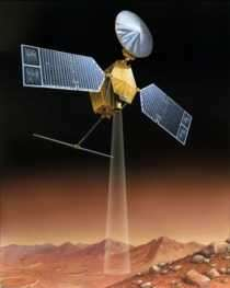 La sonde Mars Reconnaissance Orbiter crédit : NASA/JPL