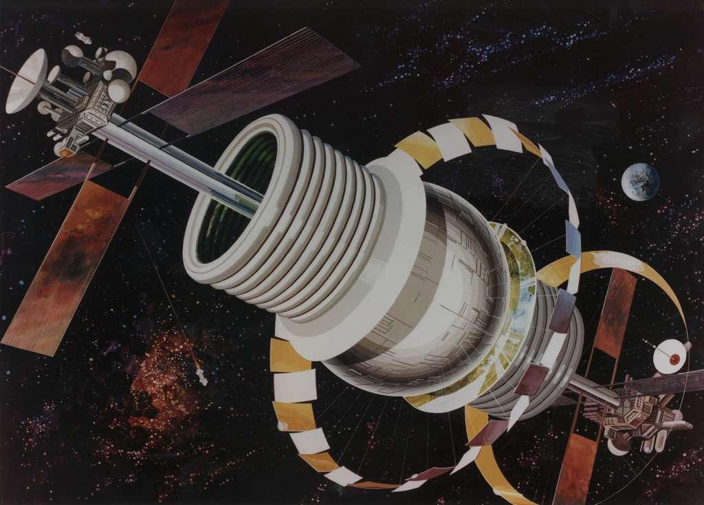 La sphère de Bernal. © Nasa Ames Research Center