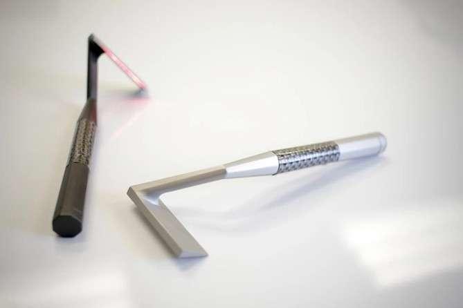 Le rasoir laser Skarp ambitionne de nous libérer des contraintes du rasage classique en éliminant notamment tous les risques de blessures. Pourra-t-il tenir cette promesse ? © Skarp Technologies