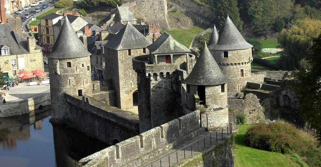 Le château de Fougères. © Melanieleleu, Fotolia