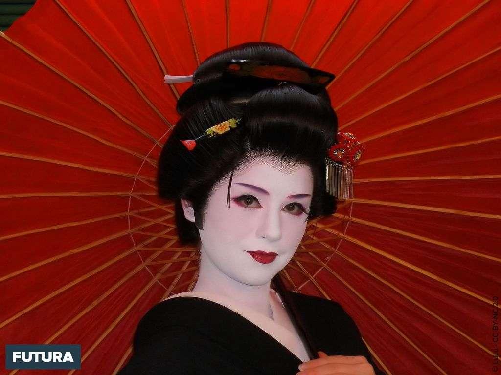 Geisha Makeover - Japon