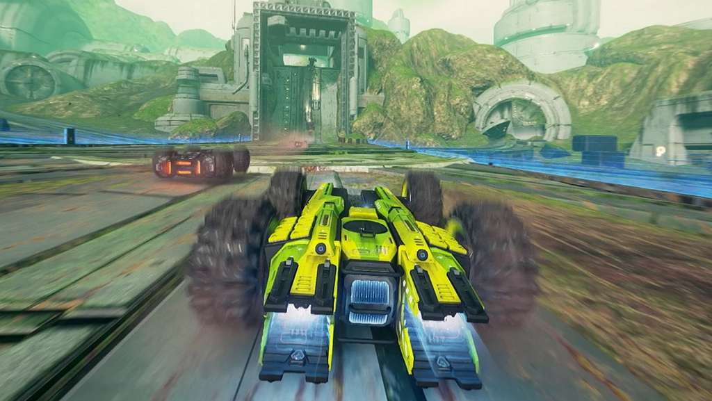 Défiez les lois de la physique avec GRIP : Combat Racing! © Wired Productions