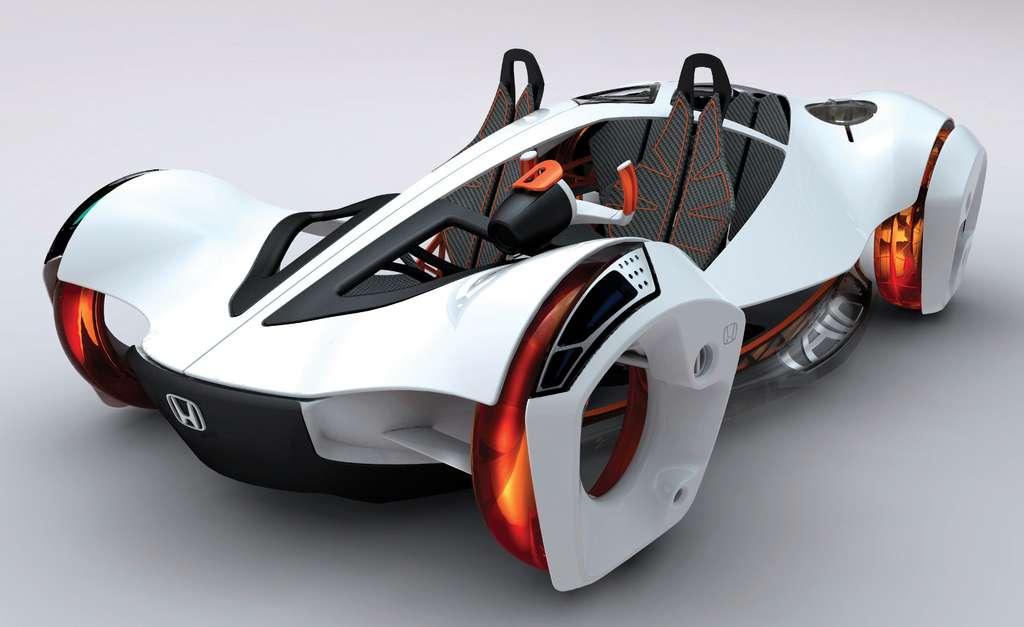 La Honda Air, concept car au moteur à air comprimé. © Honda