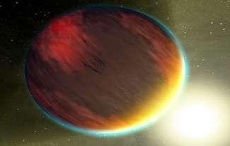 Représentation d'artiste d'un Jupiter chaud ( Crédit : NASA )