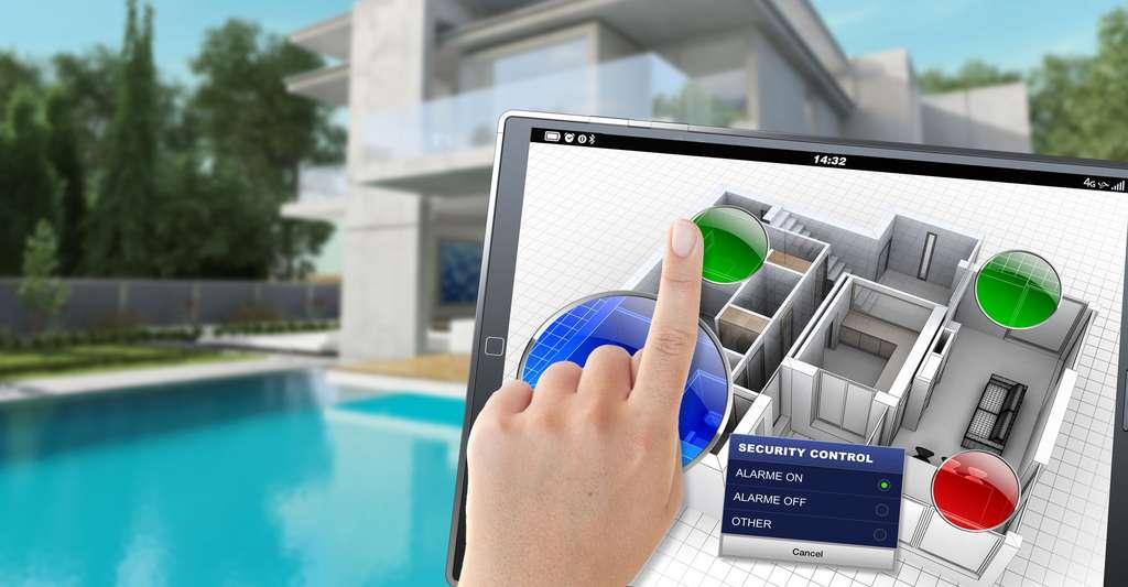 Vous souhaitez modifier les pièces de votre maison ? Avant de procéder à l'aménagement intérieur, faites une modélisation avec les logiciels 3D. © Franck Boston, Shutterstock
