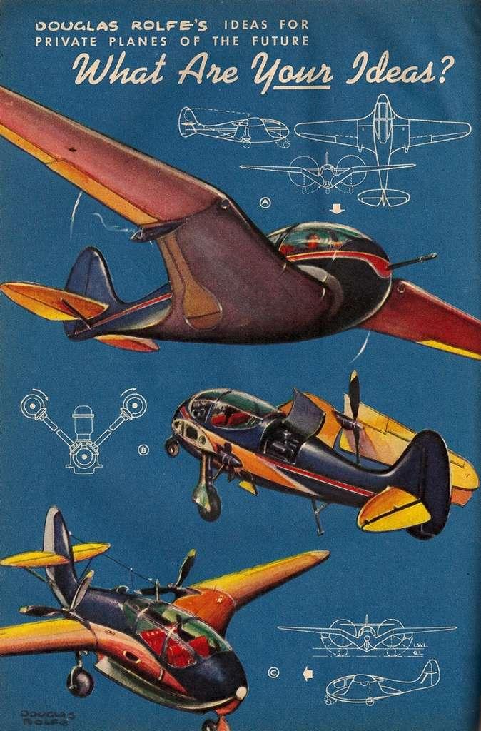 L'avion du futur selon Douglas Rolfe
